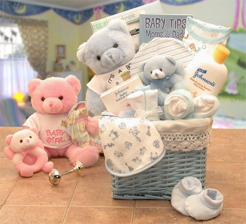 Sweet Baby of Mine New Baby Basket ~ Med