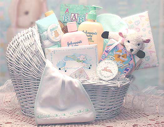 Welcome Baby Bassinet New Baby Basket ~ Med