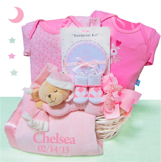 Personalized Bear Nap Time ~ Girl